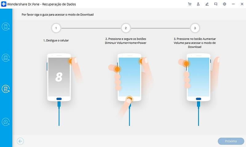 recuperação de dados android quebrado