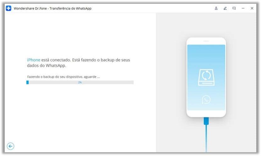 alternativa: salvaguardar seletivamente o whatsApp no seu computador