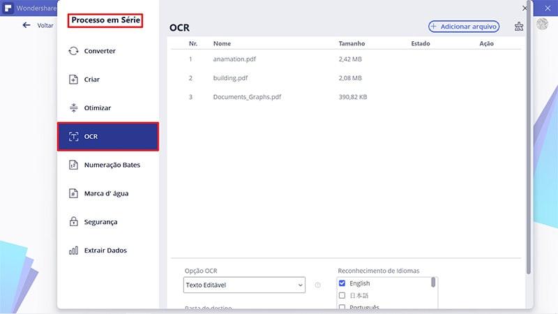 batch convert pdf to searchable pdf
