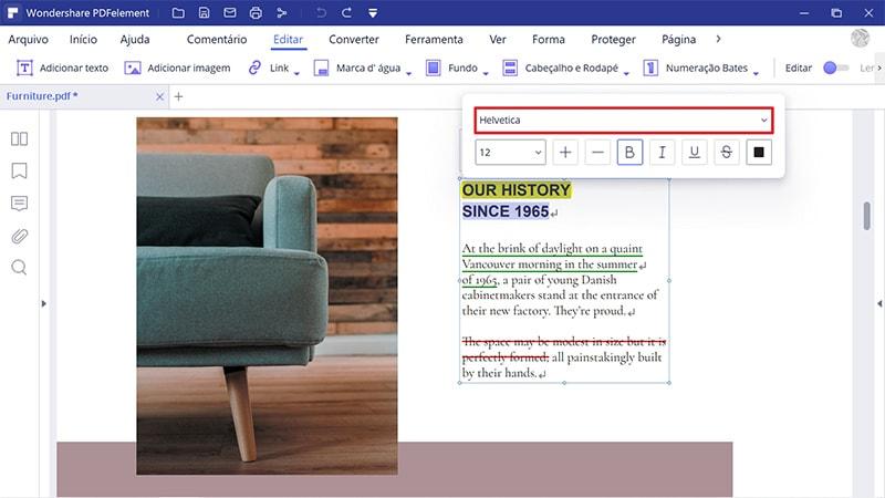 pdf replace font