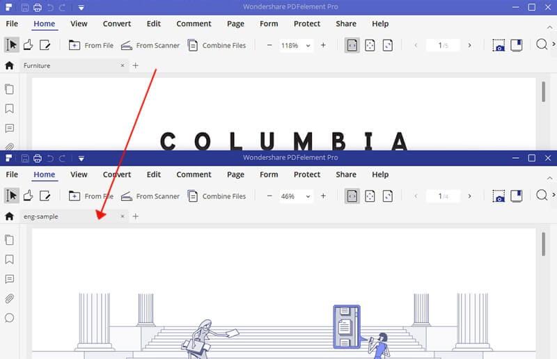 diferenças entre pdfs com beyond compare