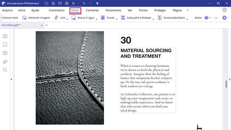caixa editar pdf