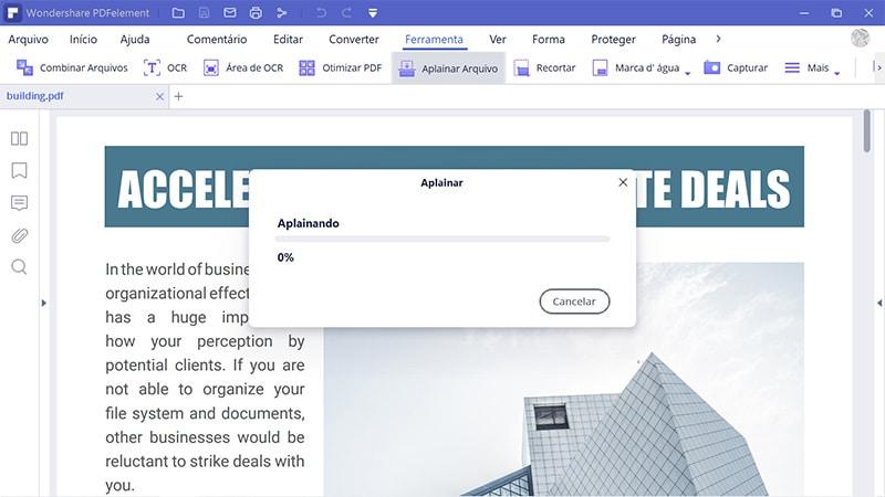 flatten pdf