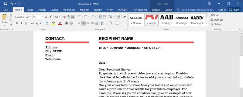 como inserir um pdf num documento word