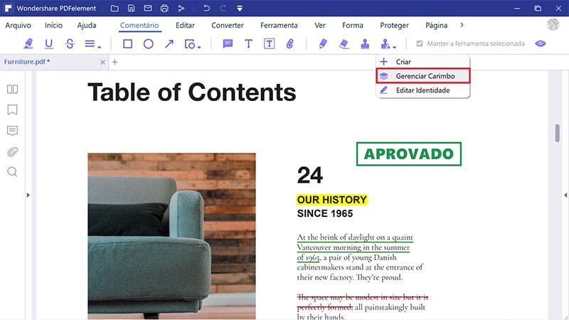 criar carimbo de assinatura transparente para pdf