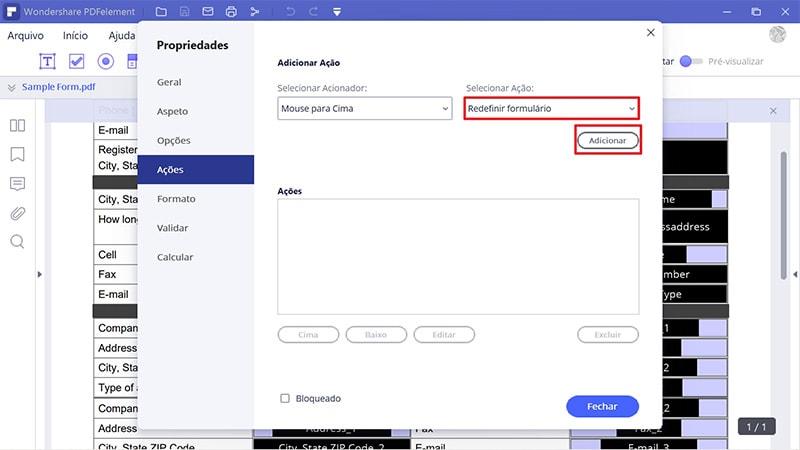 converter um pdf num formulário preenchível sem acrobat