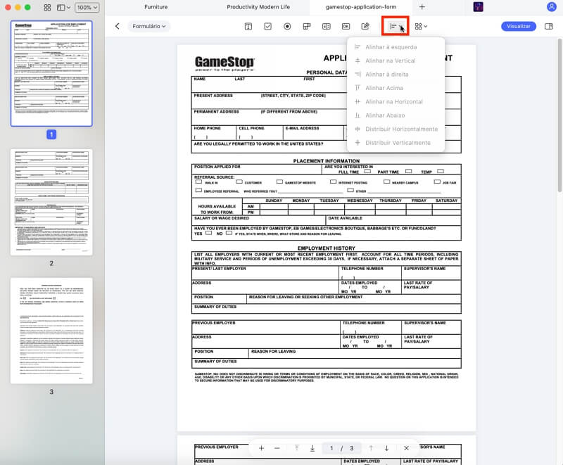 creating pdf forms on mac