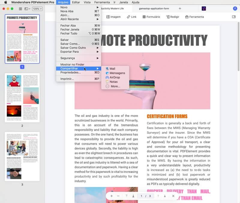 resize pdf dimensions mac