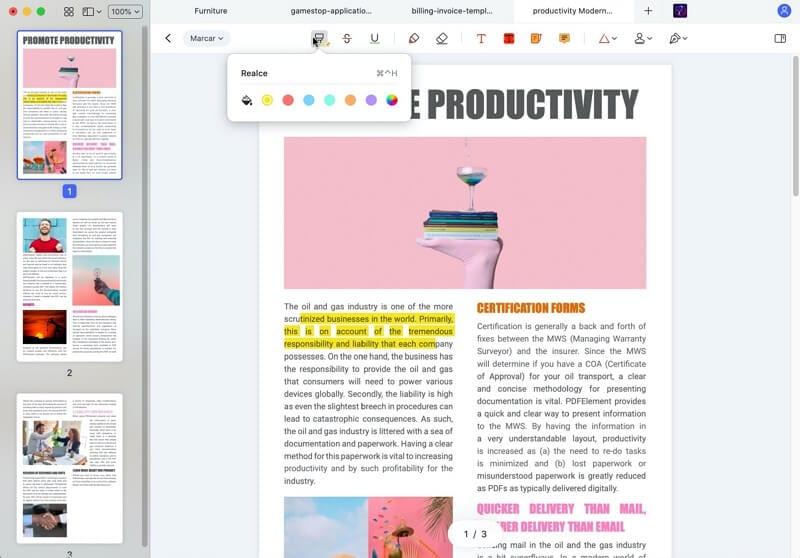 consertar pdf borrado no mac el capitan
