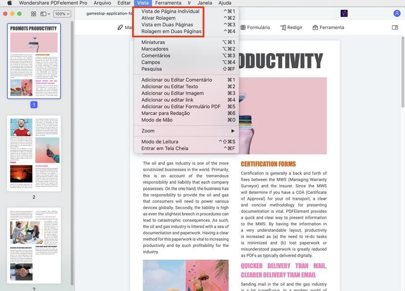 ver pdf no mac